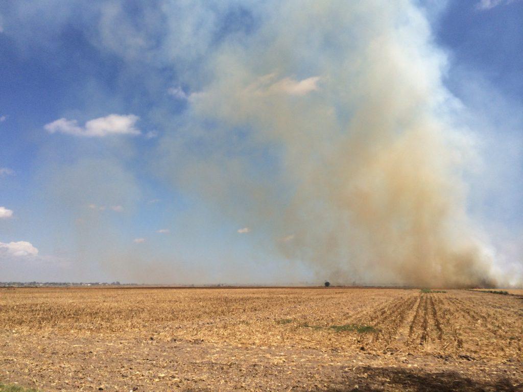 Sader realiza recomendaciones para evitar quemas agrícolas
