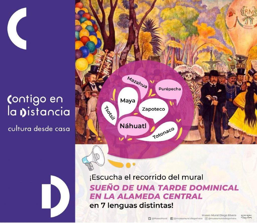 Visita el Mural sueño de una tarde dominical