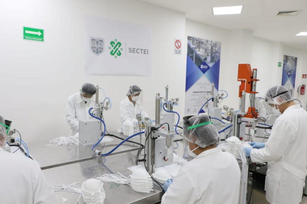 Fabrican mascarillas N95 UNAM y ATFIL