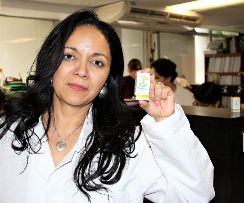 Sonia Mayra Pérez Tapia, de la Escuela Nacional de Ciencias Biológicas