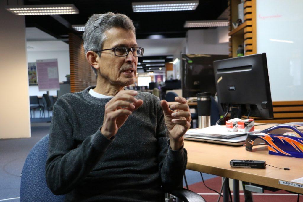 Humberto Sossa Azuela, del Centro de Investigación en Computación