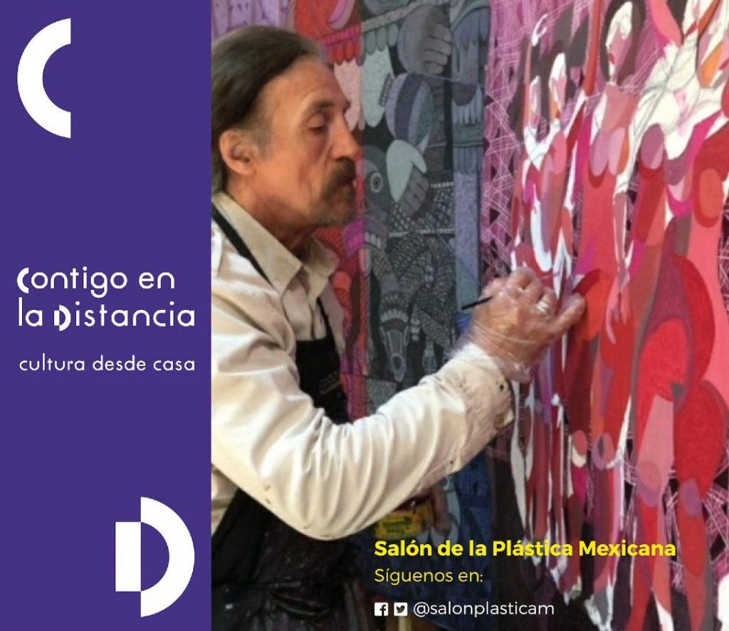 Julio Carrasco presentará cápsulas sobre su obra plástica