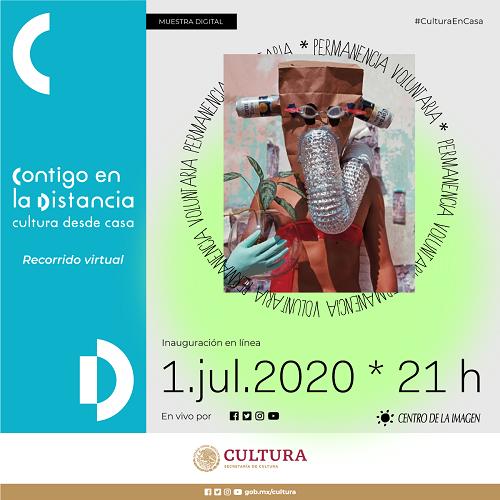 """Inaugurarán en línea  muestra digital """"Permanencia voluntaria"""""""