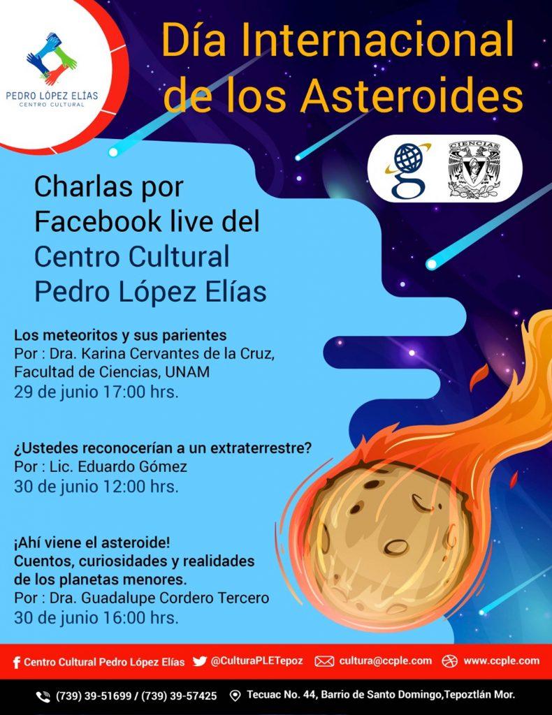 UNAM se suma a conmemoración del Día de los Asteroides