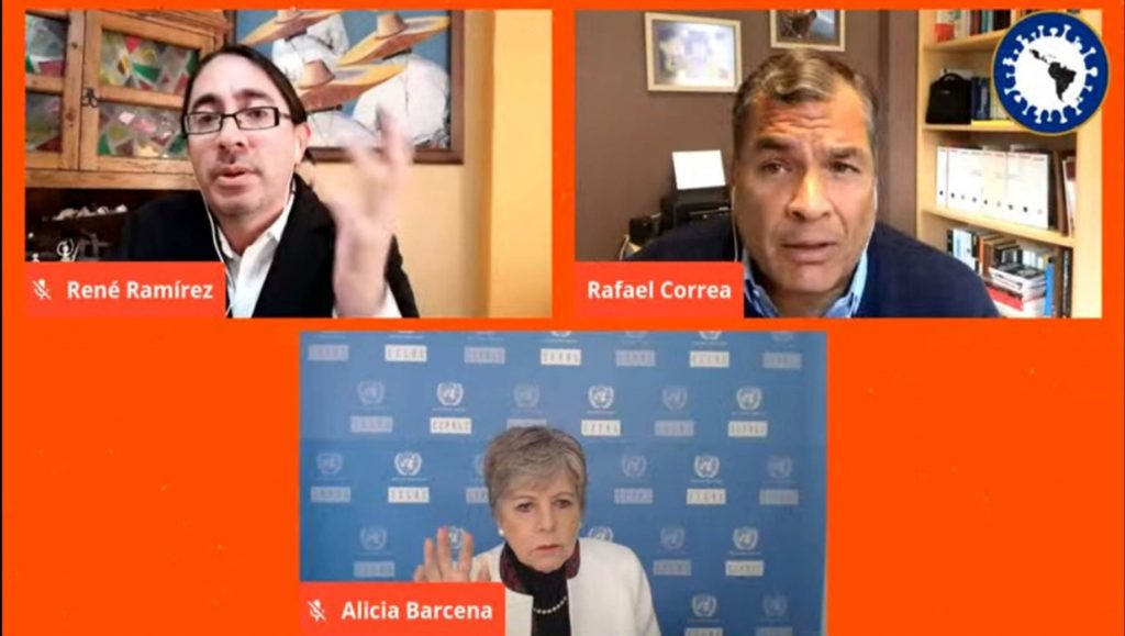 La pandemia resaltó la desigualdad en países de AL: Alicia Bárcena