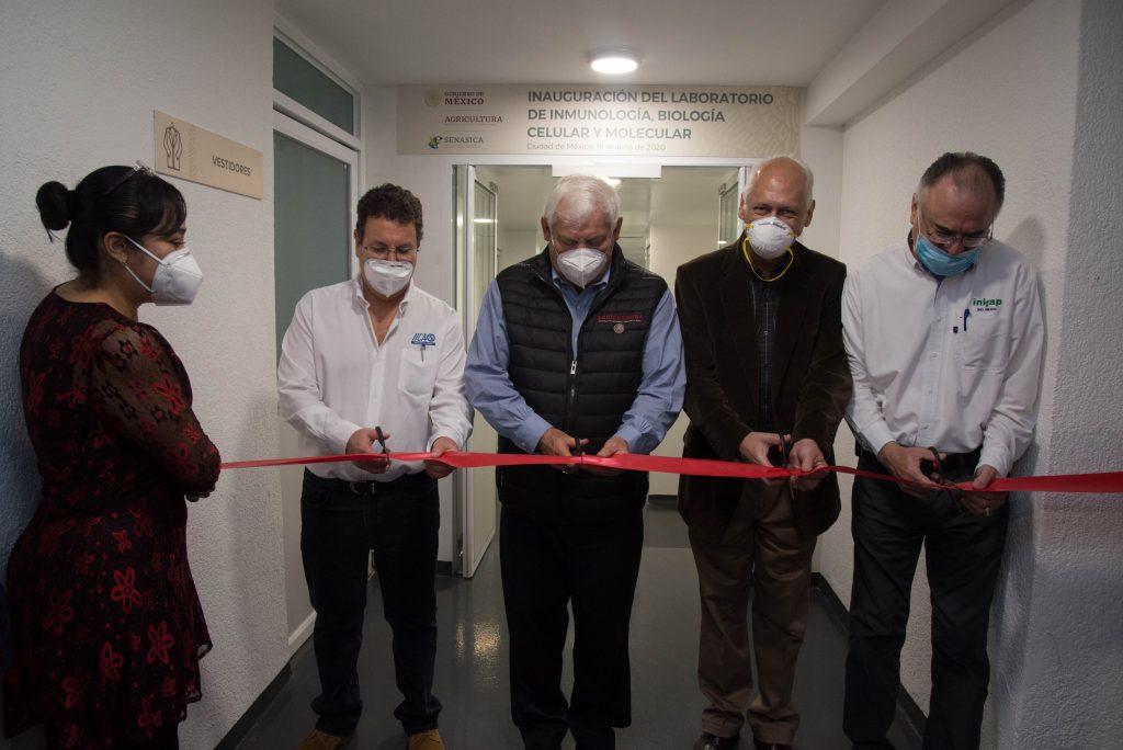 Invierten cuatro mdp en laboratorio que beneficiará tareas sanitarias
