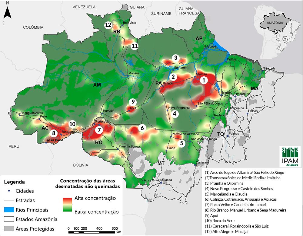 Anuncian Decreto que prohíbe uso de fuego en el Amazonas