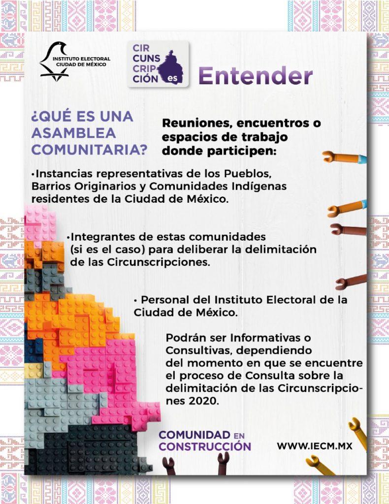 Iniciarán asambleas comunitarias sobre nuevas circunscripciones