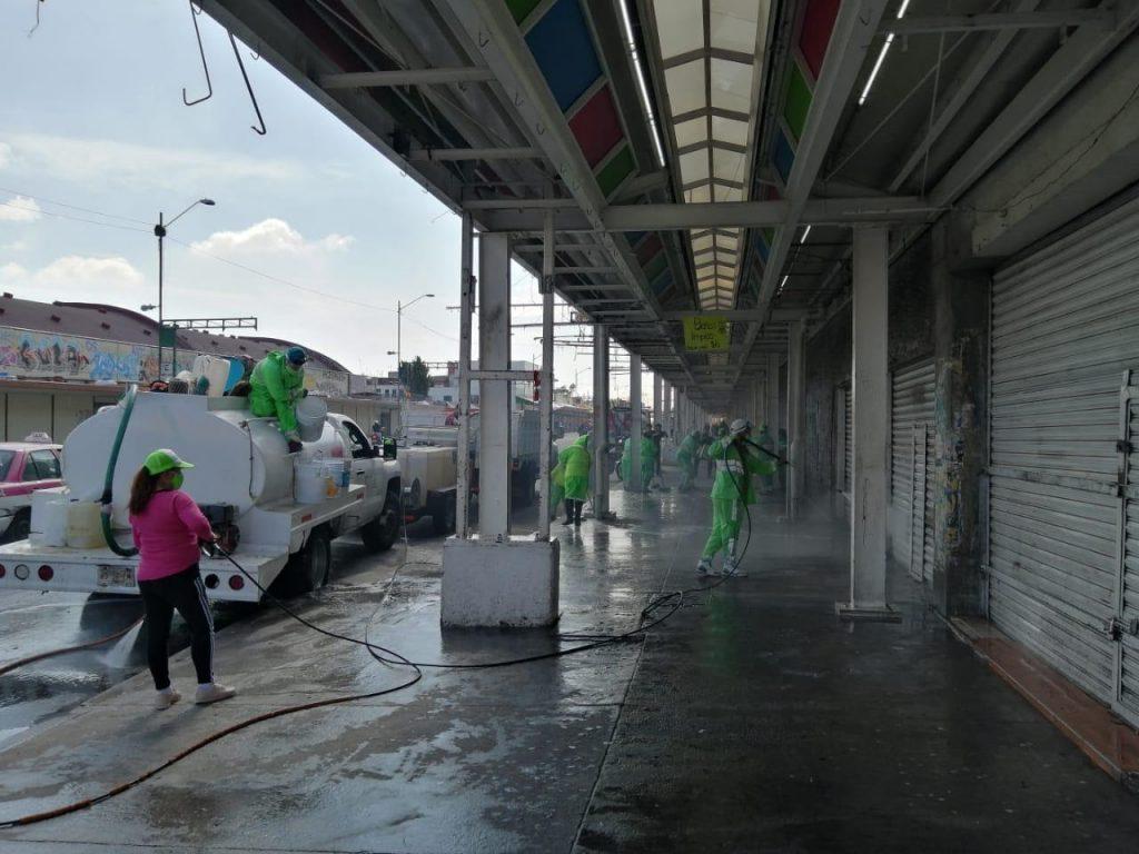Realiza Jornada de Limpieza y Sanitización en Eje 1 Norte
