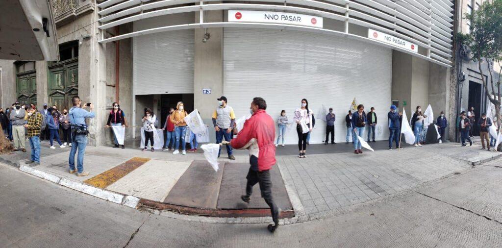 Campesinos de la Coduc toman oficinas de Sedatu