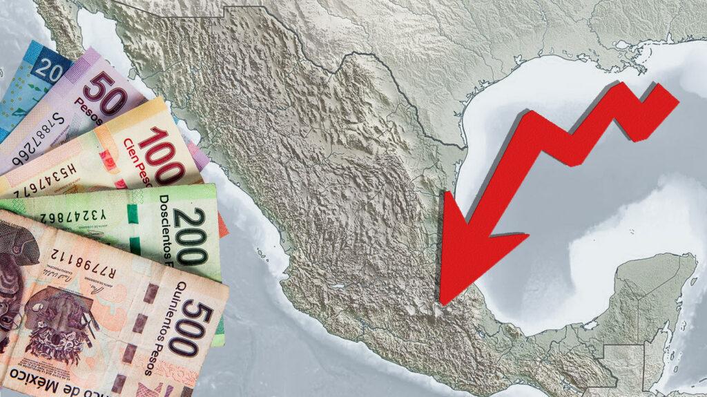 Facetas de México/ Economía mexicana cae como nunca