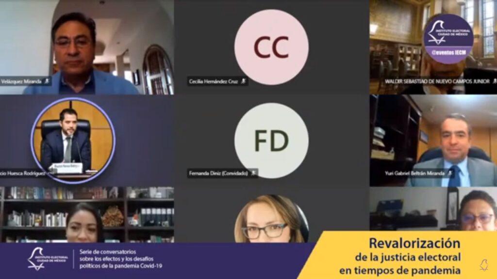 Concluye IECM serie de Conversatorios virtuales