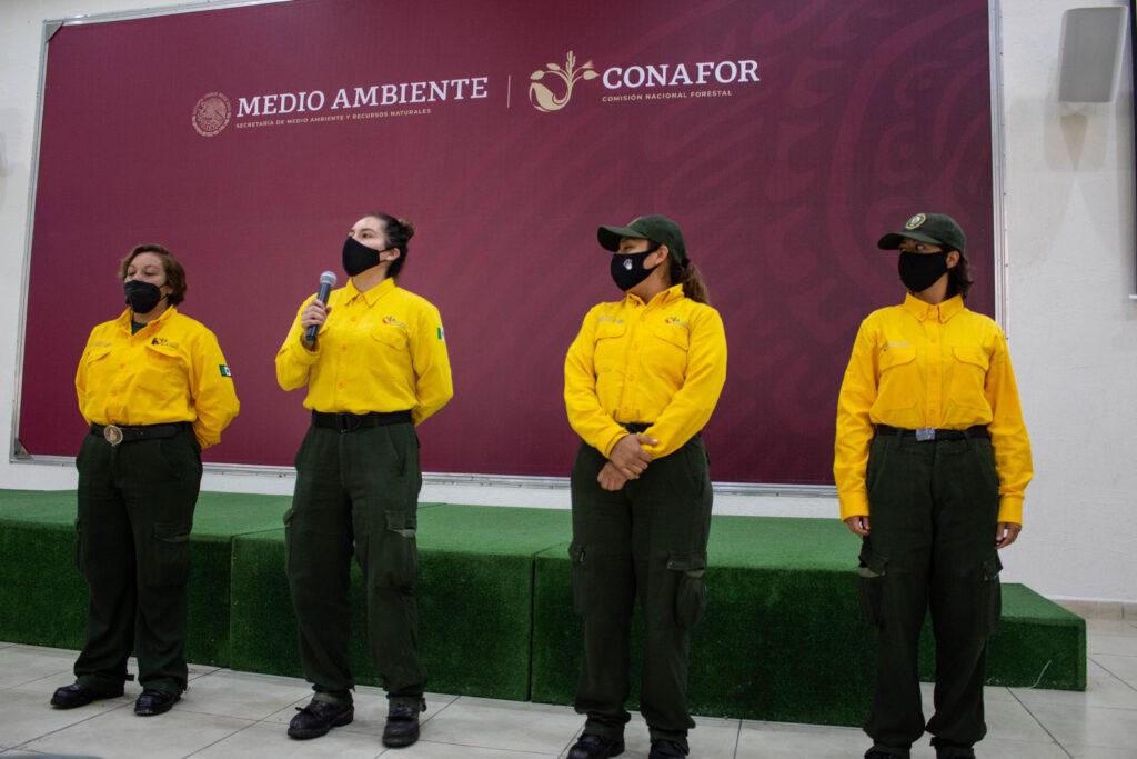 Combatientes de incendios mexicanos apoyarán a EU