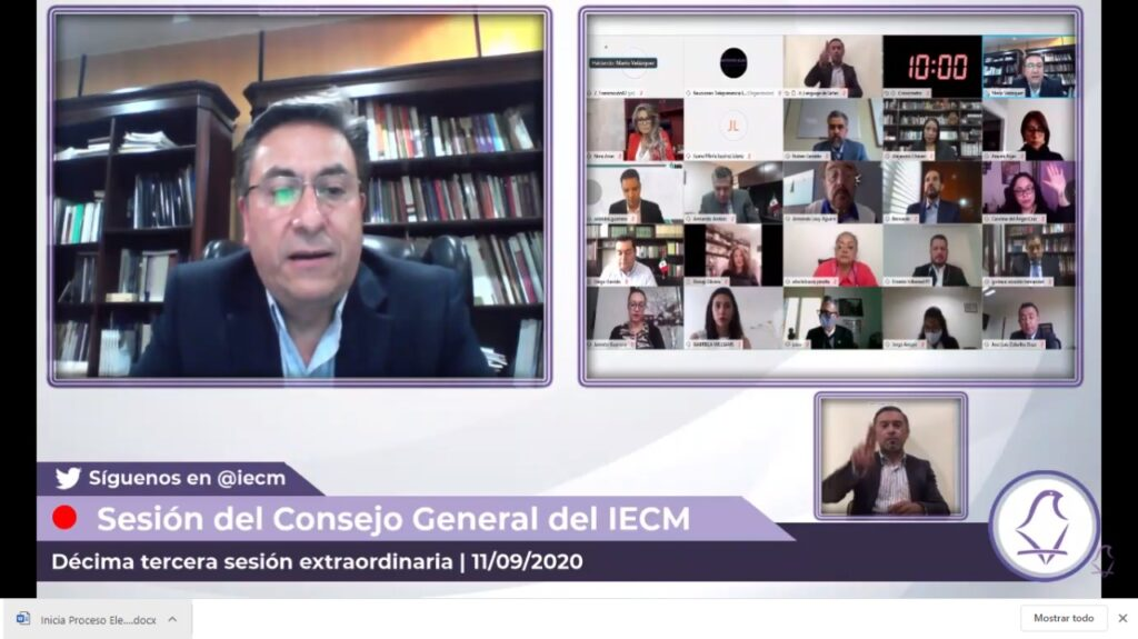 Inicia Proceso Electoral 2020-2021 en la CDMX