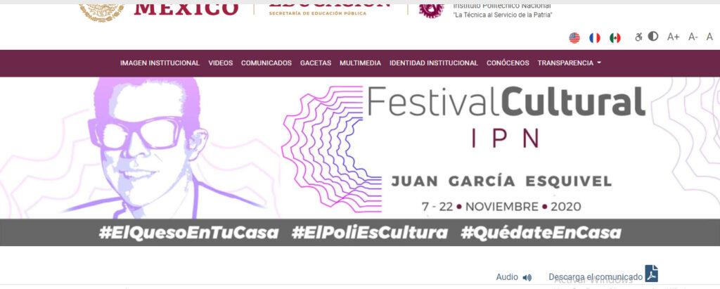 """Anuncia IPN Festival Cultural """"Juan García Esquivel"""""""