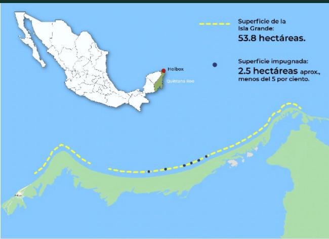 Aseguran  que  isla grande de Holbox tendrá protección