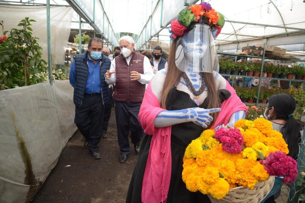 Inauguran Romería Flor de Cempasúchil 2020