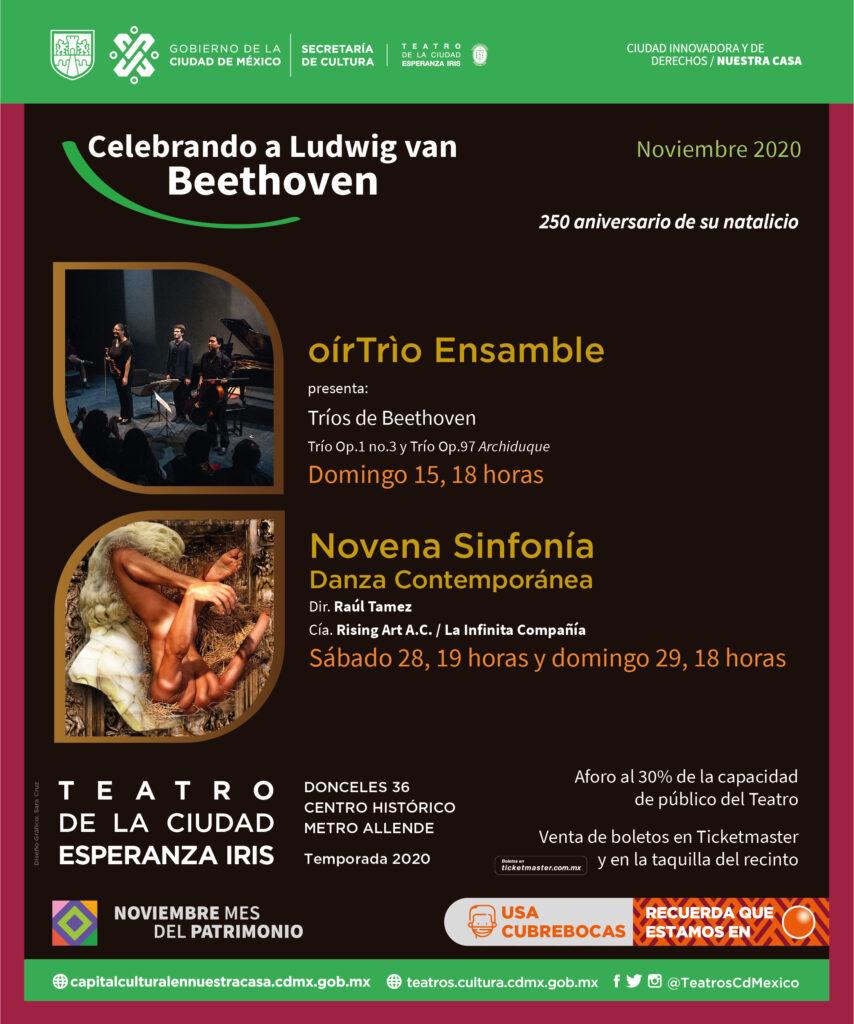 La Novena Sinfonía: danza contemporánea - Prensa Animal