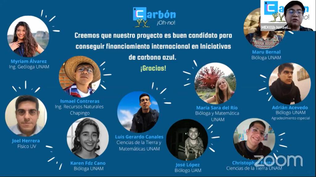 Triunfan universitarios en Ocean Hackathon 2020