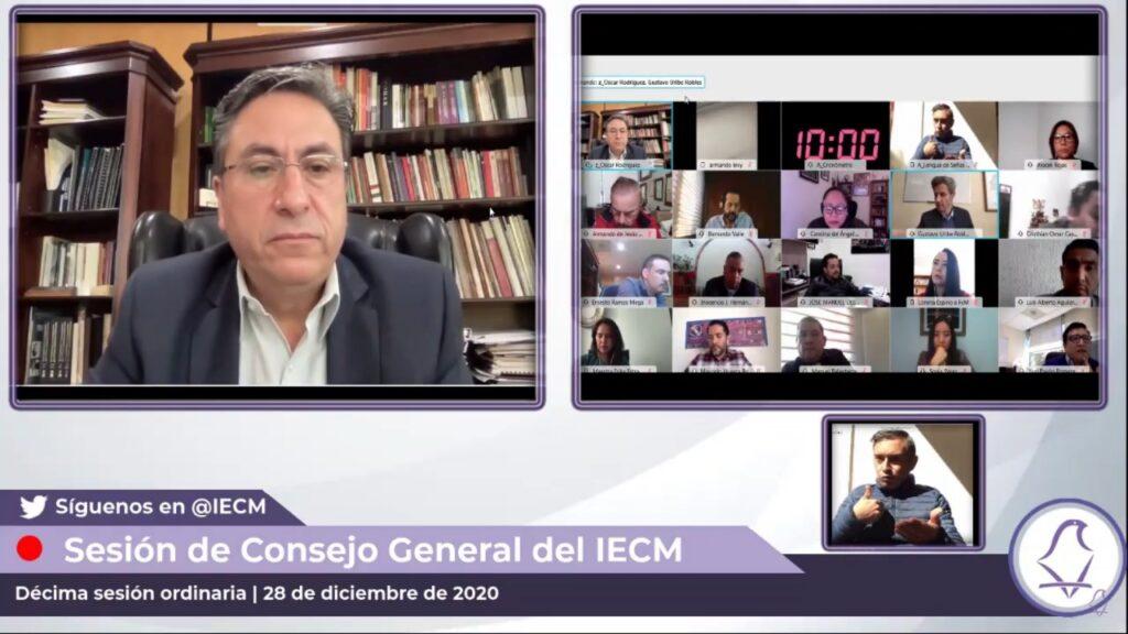 Sesiones virtuales en Consejos Distritales del IECM