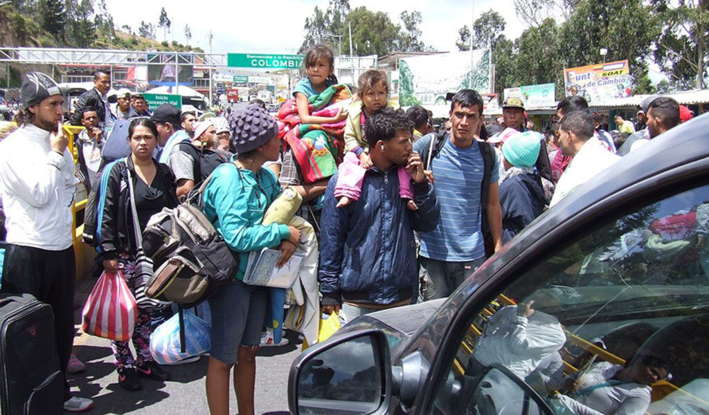 México: albergue de migrantes transcontinentales