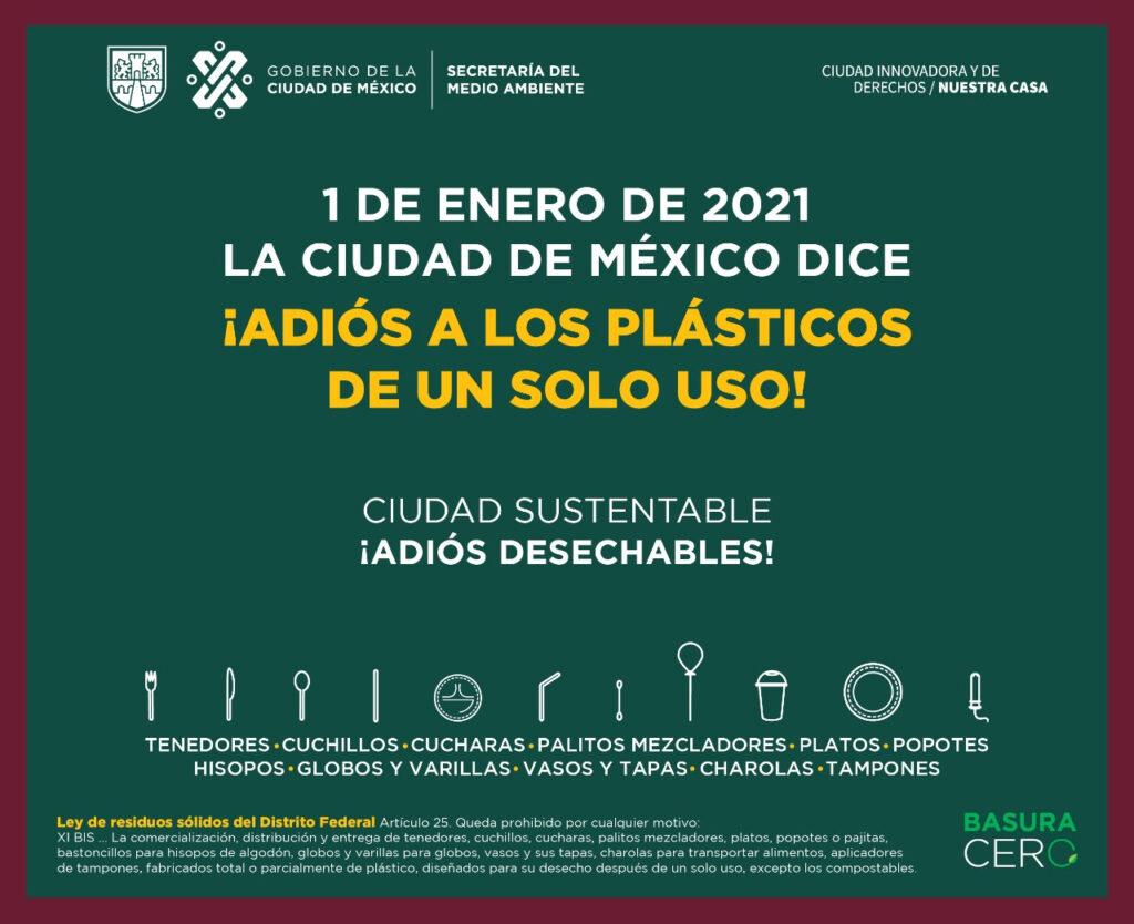 Entrará en vigor Ley de residuos sólidos en CDMX