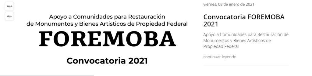Convocatoria 2021: México en Escena-Grupos Artísticos