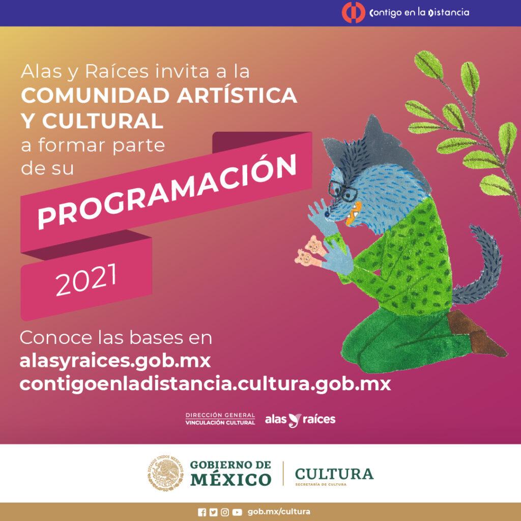 Invitan a formar parte del Programa cultural Alas y Raíces