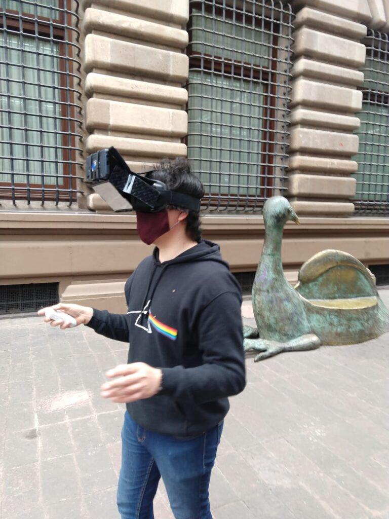 Usan realidad mixta en app turística para la CDMX