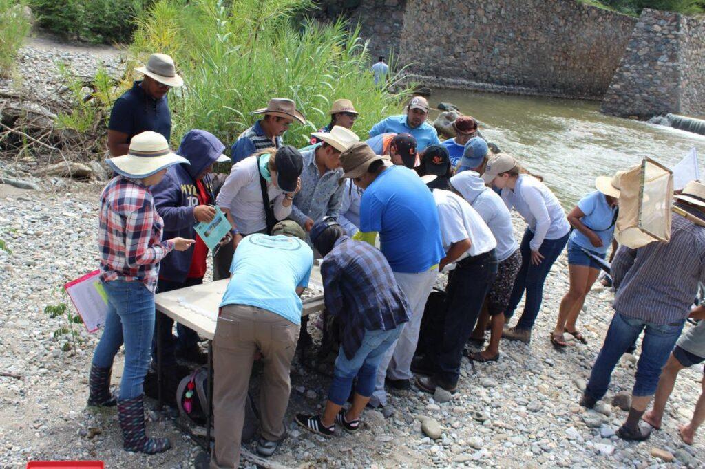 Evalúan calidad del agua en reserva natural con APP
