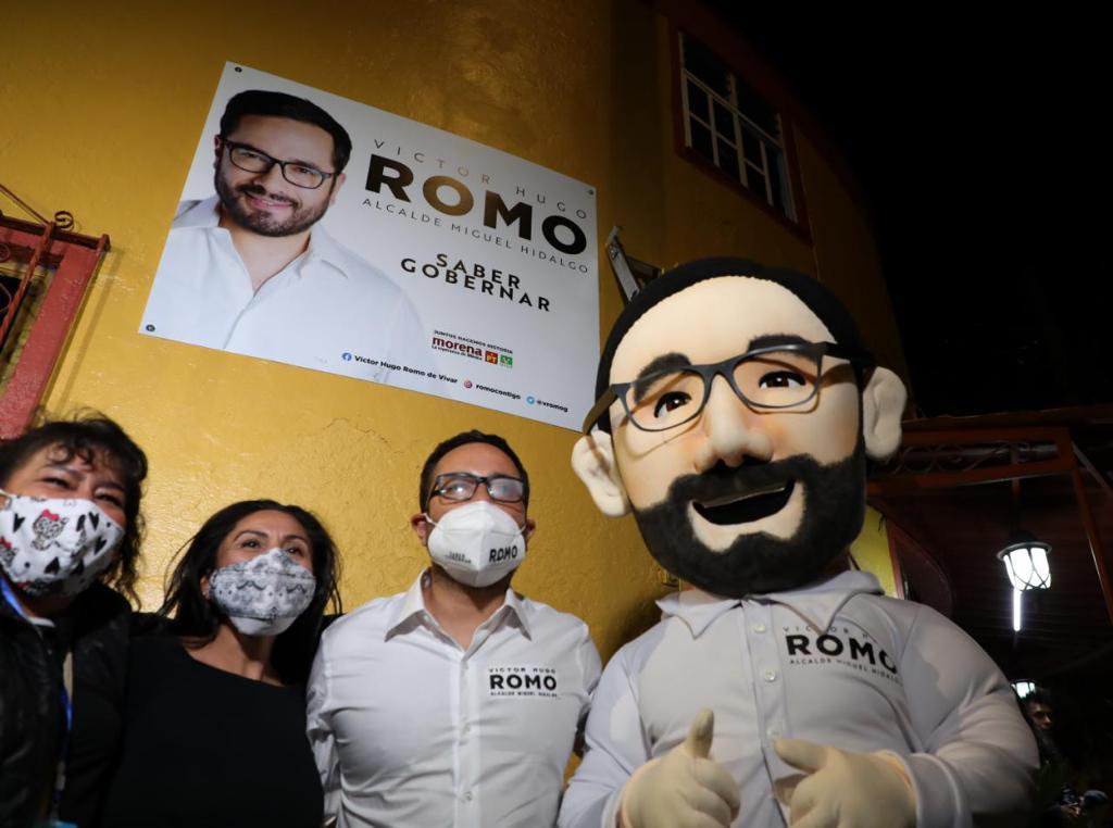 Volveré a gobernar MH: Víctor Romo