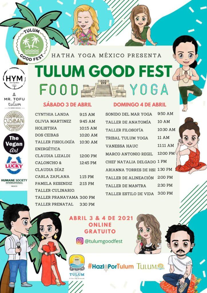 Tulum Good Fest : festival de bienestar más grande