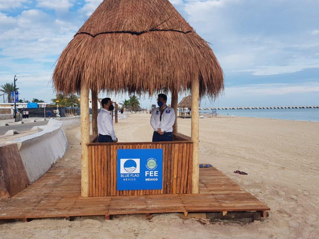 México: primer lugar en América con certificado Blue Flag