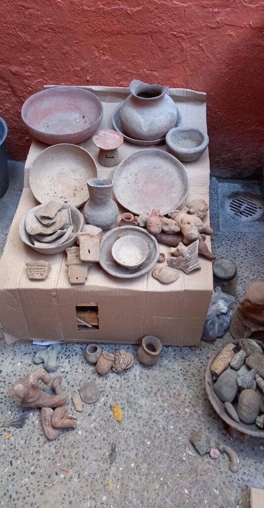 Regresan piezas prehispánicas de Soledad de Maciel