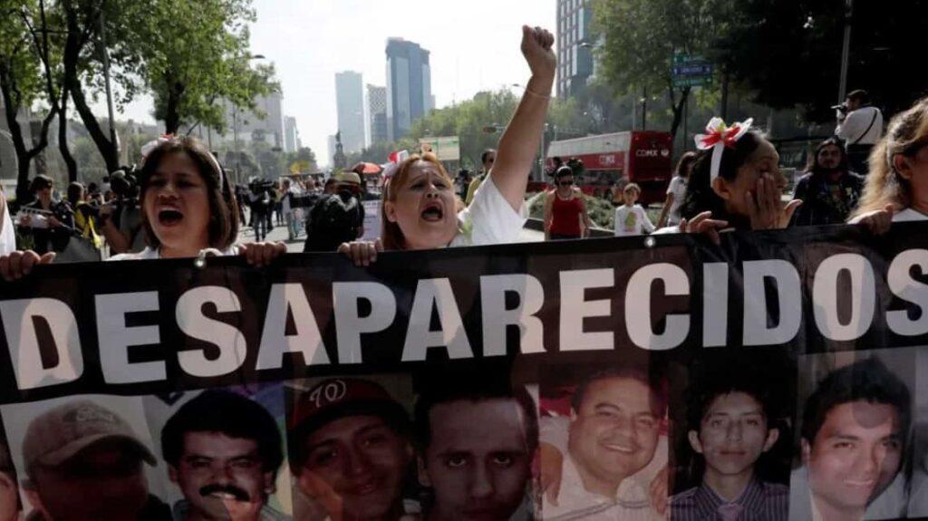 Continúan las desapariciones forzadas en México