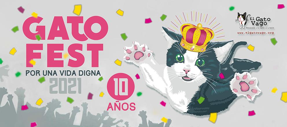 """GatoFest 2021 """"Por Una Vida Digna"""" ¡será virtual!"""