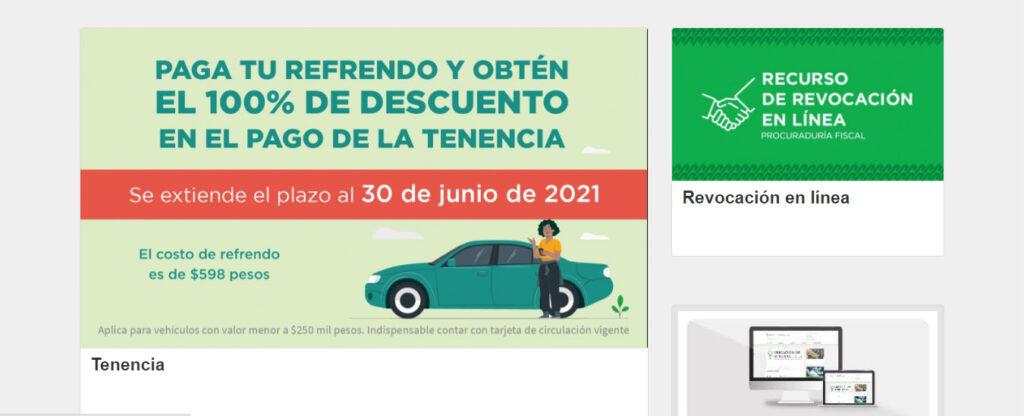 Amplían plazo del subsidio a tenencia 2021