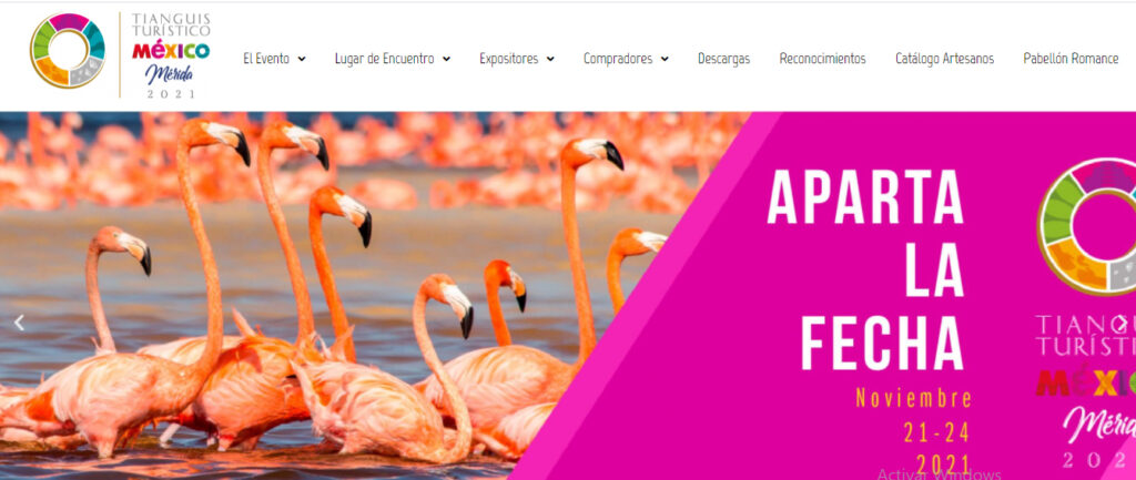 Tianguis Turístico 2021 del 21 al 24 de noviembre