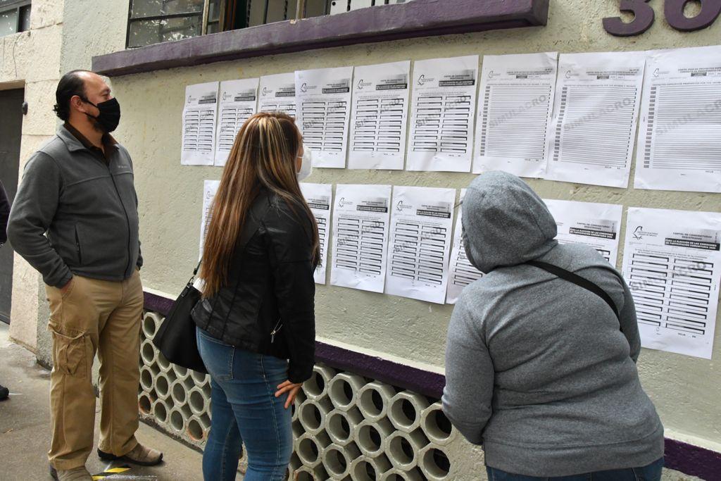 Realizan tercer simulacro de la Elección de Copacos 2020