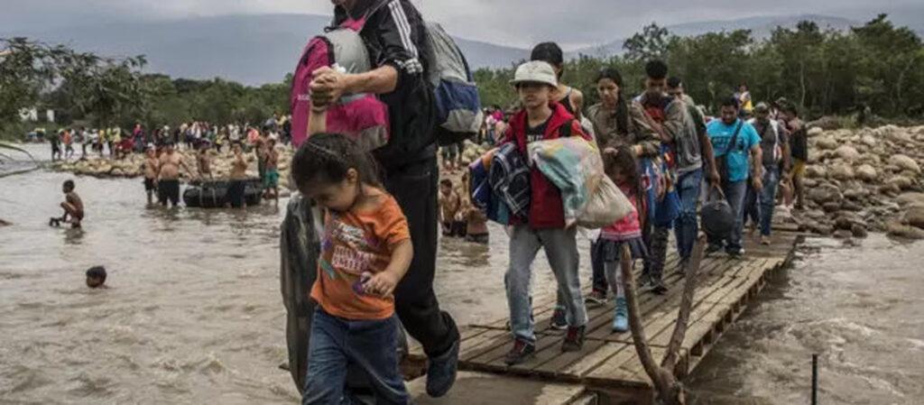 Migrantes ambientales afectados por el impacto climático