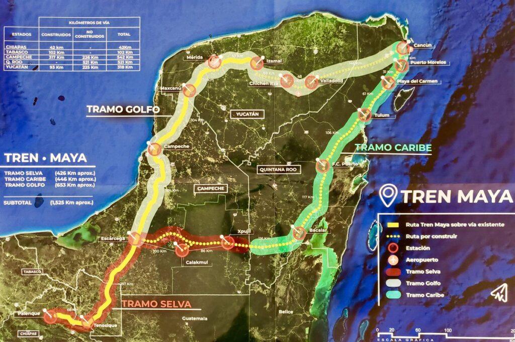 Propone Sectur 62 recorridos para Tren Maya