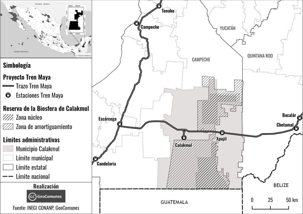 Continúan agresiones contra  indígenas por Tren Maya