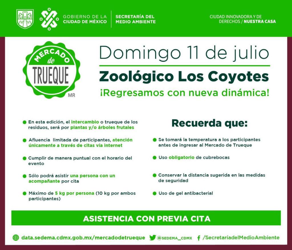 Regresa Mercado de Trueque renovado a la CDMX