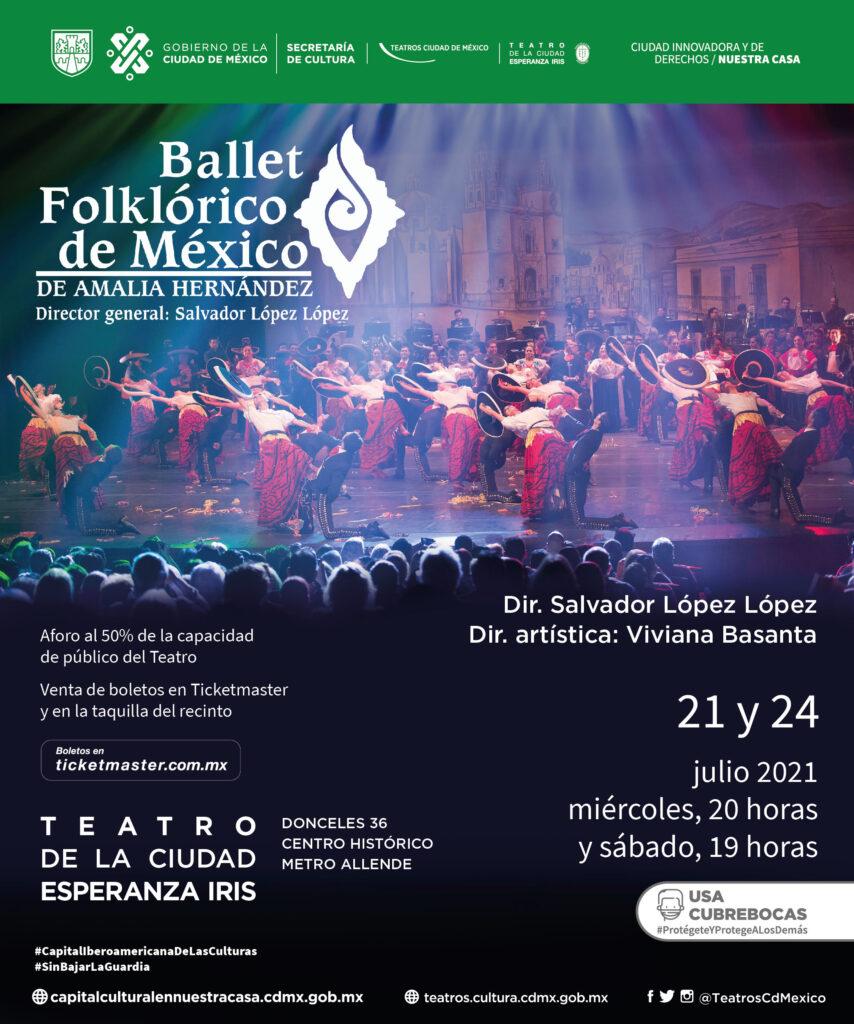 Regresa Ballet Folklórico de México de Amalia Hernández