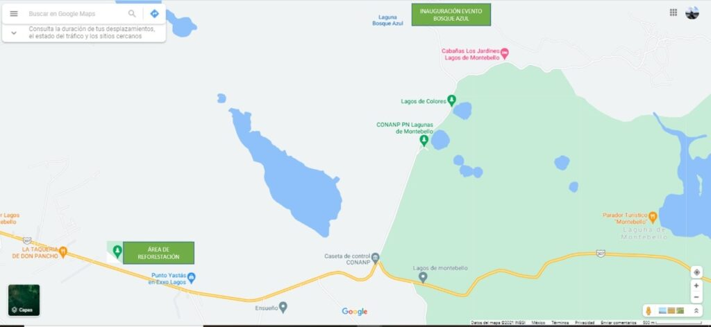 Reforestan Cuenca Lagunas de Montebello-Río Grande