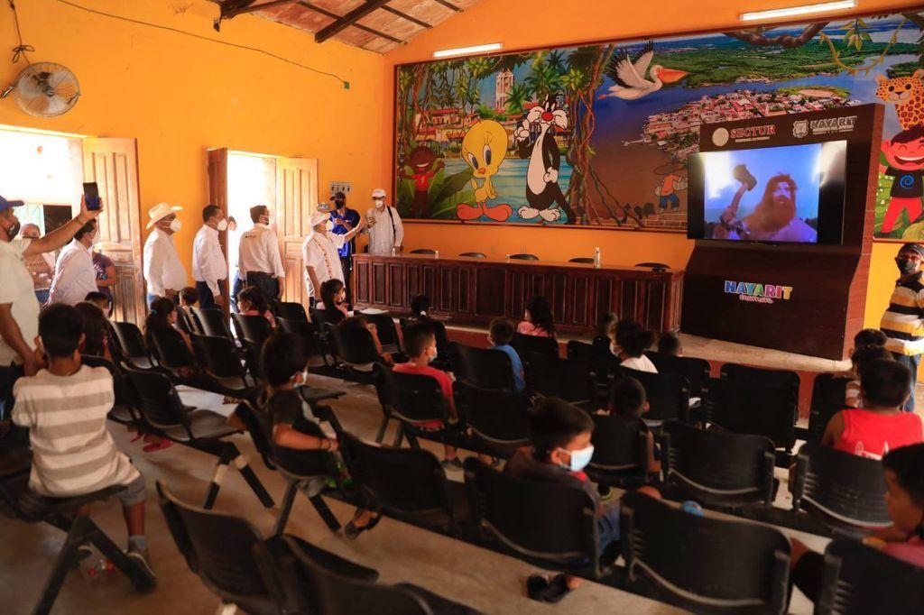 Mexcaltitán recibió  nombramiento como Pueblo Mágico