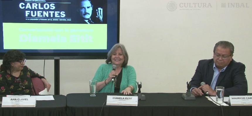 Diamela Eltit comparte su experiencia literaria