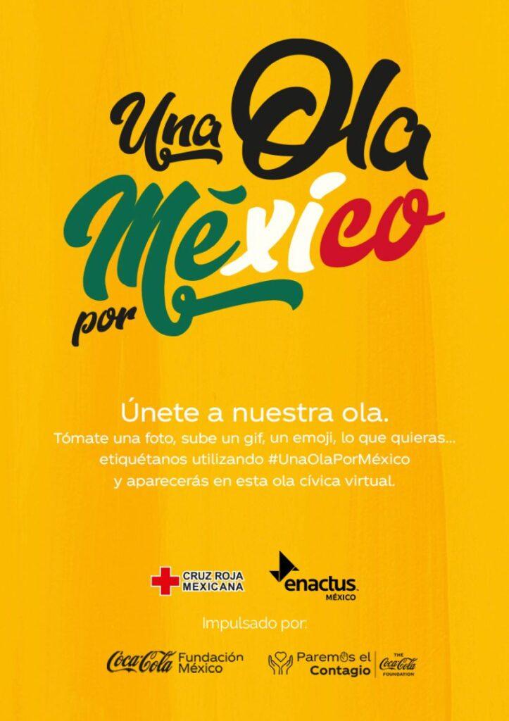 Llaman a hacer Una Ola por México