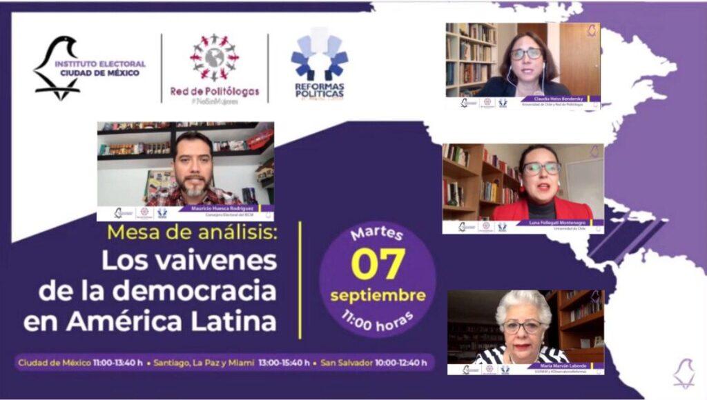 Organiza IECM foros sobre la Diputación Migrante