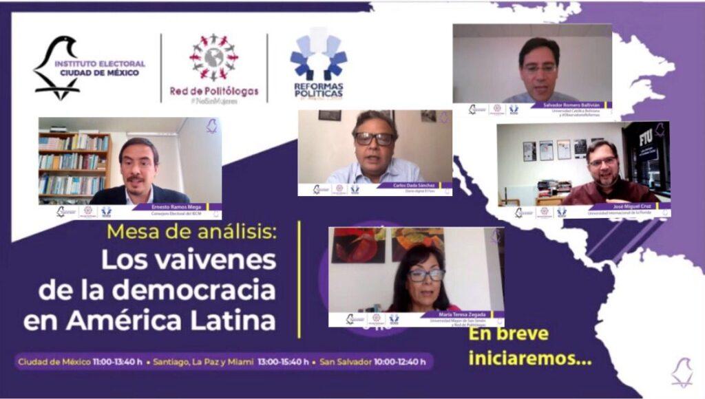 Analizan situación democrática en América Latina